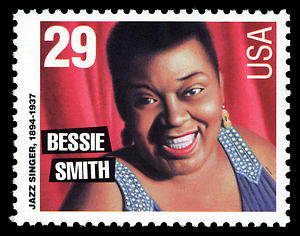 Bessie Smith Postage Stamp, 29 cents