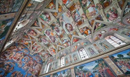 Michelangelo, Sistine Chapel, Ceiling, Rome, Italy