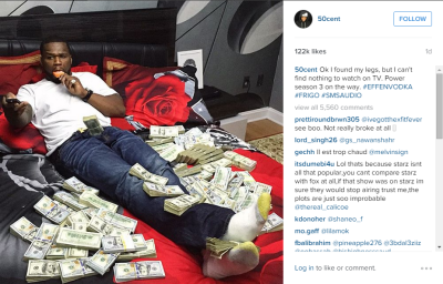 50 cent in money bed
