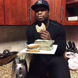 50cent money sandwich