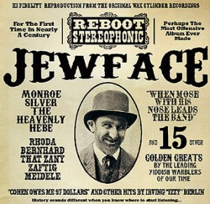 Jewface album cover, Reboot Stereophonic