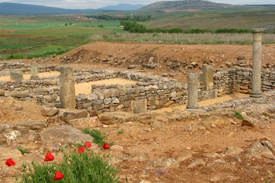Numantia perhaps, Celtiberian ruins, Spain