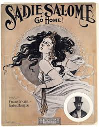 """Sadie Solome Go Home,"" sheet music cover, Yivo Institute for Jewish Research"