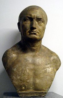 Bust of Scipio Africanus the Elder from Pushkin Museum, Moscow