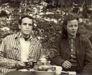 Philip Guston and his wife Musa, 1940, Woodstock, Summer