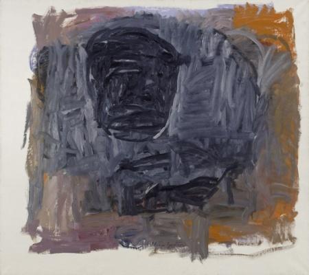 "Philip Guston, ""Painter III,"" 1963, image courtesy Hauser & Wirth"