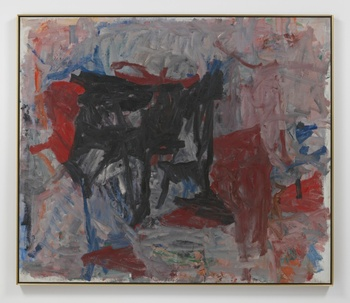 Philip Guston, Untitled, 1958, oil on canvas, private collection
