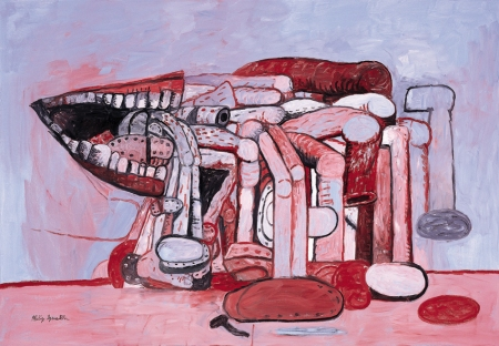 Philip Guston, Painter's Form II, 1978, collection of the Modern Art Museum of Fort Worth