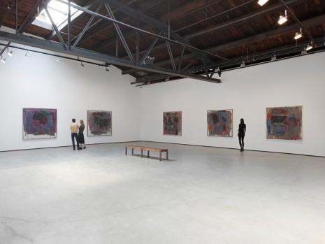 """Philip Guston, """"Painter, 1957 – 1967,"""" Installation view, Hauser & Wirth, New York, photo by Genevieve Hanson"""