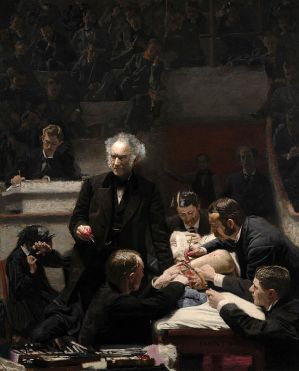 Thomas Eakins, The Gross Clinic (1875), in the collection of the Philadelphia Museum of Art