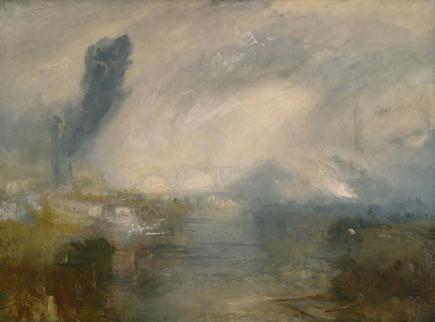 The Thames above Waterloo Bridge c.1830-5 Joseph Mallord William Turner 1775-1851 Accepted by the nation as part of the Turner Bequest 1856 http://www.tate.org.uk/art/work/N01992