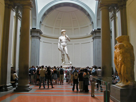 David, Michelangelo, Galleria dell'Accademia in Florence
