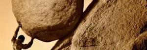 Sisyphus, Stone