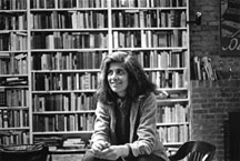 Photograph of Susan Sontag by Dominíque Nabokov, 1979