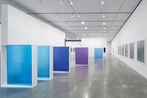 Liz Deschenes, Solo Survey Exhibition, installation view, 2016, Institute of Contemporary Art, Boston