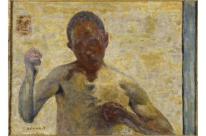 Pierre Bonnard, Le Boxeur (portrait de l'artiste), 1931, Musée d'Orsay