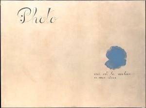 Joan Miró, Ceci est la couleur de mes rêves, 1925, MET