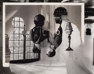 "John Stezaker, The Approach, ""Double Shadow XX,"" 2014, collage"