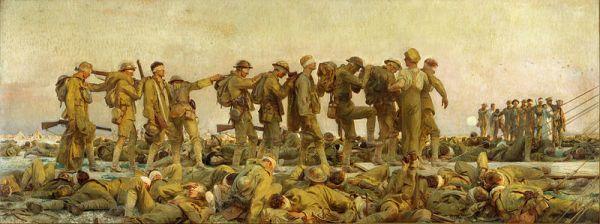 John Singer Sargent, Gassed, 1919, Imperial War Museum