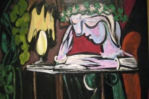 Pablo Picasso, Femme lisant à la table, 1934, Metropolitan Museum of Art