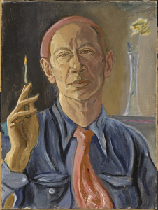 E.E. Cummings, Self-Portrait, 1958, National Portrait Gallery, Smithsonian