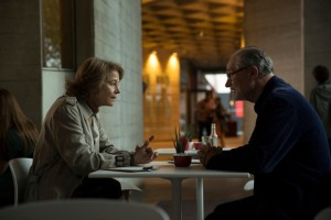 Jim Broadbent and Charlotte Rampling in The Sense of an Ending, CBS Films