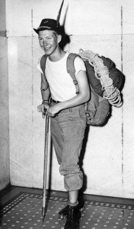Gary Snyder, 1947 (age 17)