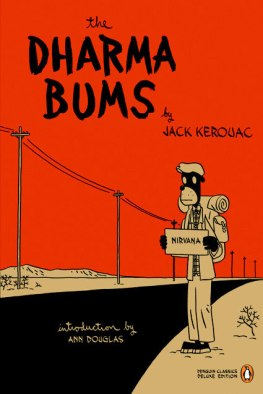 The Dharma Bums, book cover, Penguin Classics, 2007