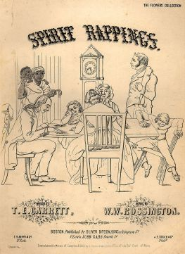 Spirit Rappings Song Cover Sheet, 1853