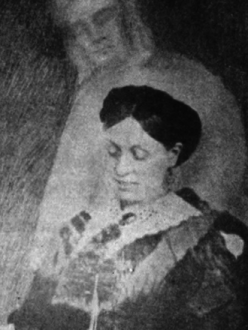 Emma Hardinge Spectral Photograph