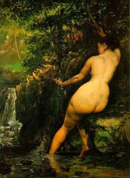 Gustave Courbet, La Source, Musée d'Orsay, 1868