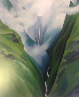 Georgia O'Keeffe, Waterfall, No III, Iao Valley, 1939, Honolulu Academy of Arts