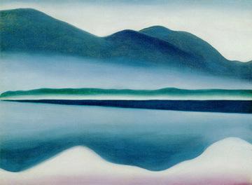 Georgia O'Keeffe, Lake George, 1924