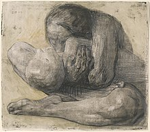 Käthe Kollwitz, Woman with Dead Child, etching, 1903