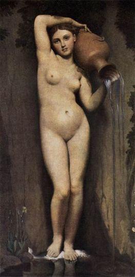 Jean-Auguste-Dominique Ingres, La Source (1856), Musée d'Orsay