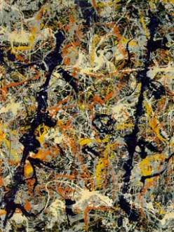 Jackson Pollock, Blue Poles - Number 11, 1952 (National Gallery of Australia)