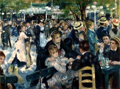 Pierre-Auguste Renoir, Le bal du moulin de la Galette, 1876 (Musée d'Orsay)