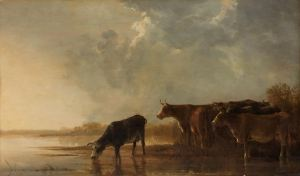 Aelbert Cuyp, River Landscape with Cows (National Gallery of Art)