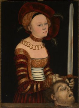 Portrait of a Lady of the Saxon Court as Judith with the Head of Holofernes, Hans Cranach, Lucas Cranach the Elder and Workshop, circa 1537-1540 (Legion of Honor, San Francisco)