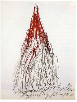 Cy Twombly, Vengeance of Achilles, 1978 (Kunsthaus, Zurich)