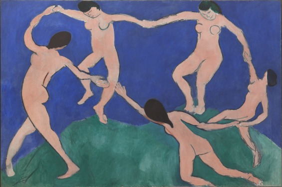 Matisse, Dance (I), Paris, Boulevard des Invalides, early 1909, MOMA