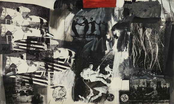 Robert Rauschenberg, Express, 1963, Museo Nacional Thyssen-Bornemisza, Madrid