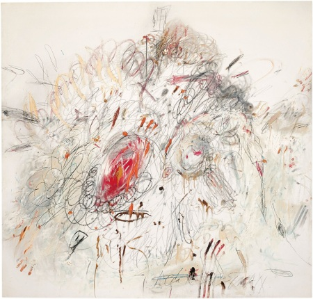 Cy Twombly, Leda and the Swan, Rome, 1962, MOMA